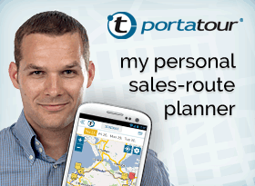 portatour® – Roteirização para a força de vendas.