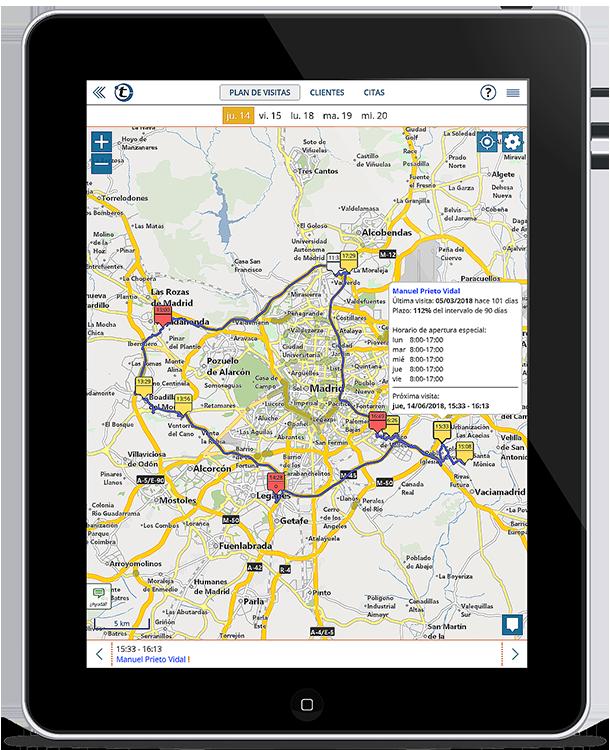 La alternativa a MapPoint: planificación de rutas con portatour® para el servicio de campo